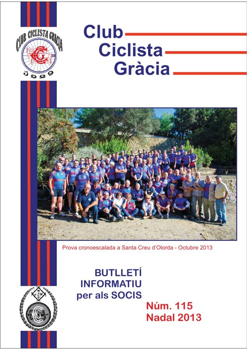 CCGRACIA - Butlletí 115