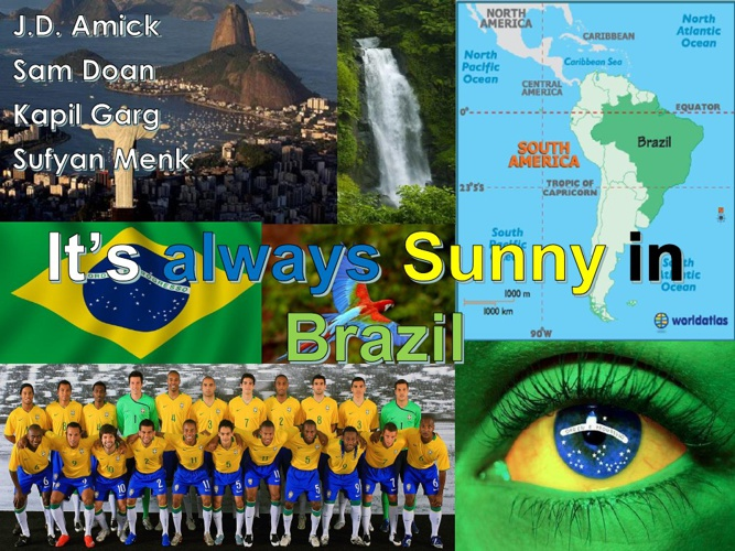 World Literature Project -- Brazil