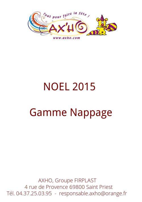 Nappage Noël 2015 - AXHO