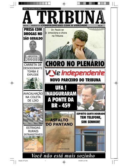 Jornal A Tribuna - edição 377