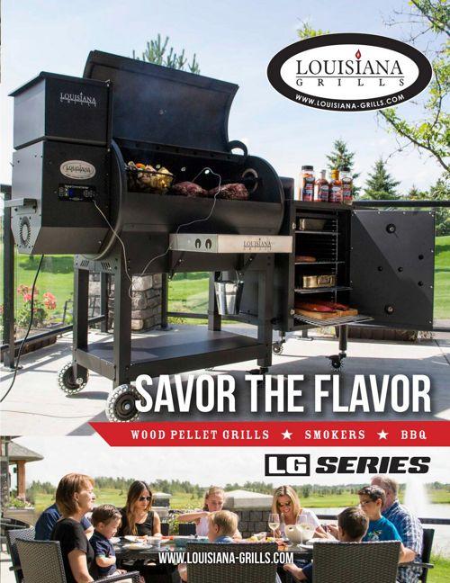 Louisianna Pellet Grills - LG Series -edited