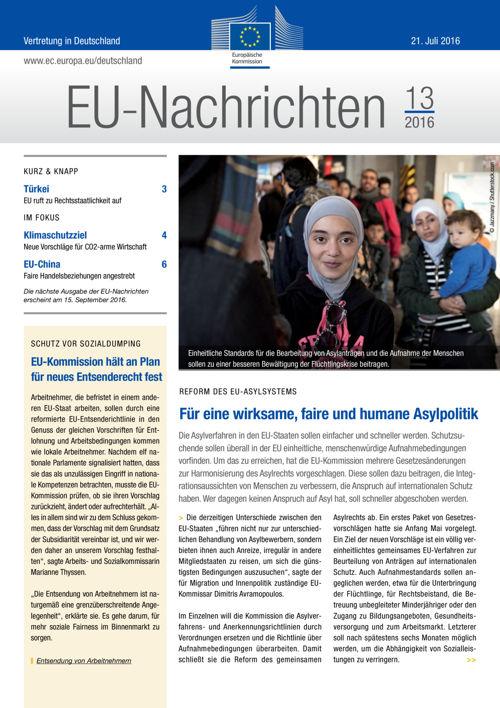 EU-Nachrichten #13