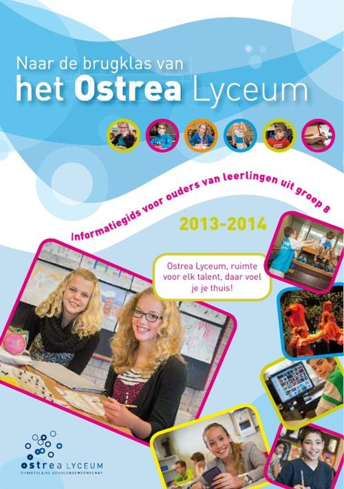 Schoolgids Ostrea Lyceum 2013-2014