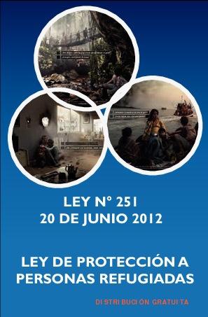 LEY DE PROTECCIÓN A PERSONAS REFUGIADAS - LEY N° 251