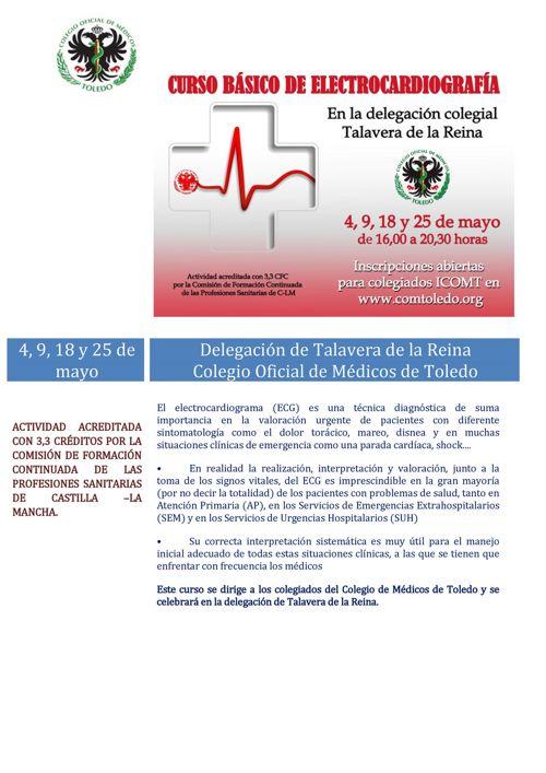 Programa ICOMT Curso Básico de ELectrocardiografía TA
