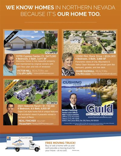 SNP Homes for Sale in July Homes & Land Magazine