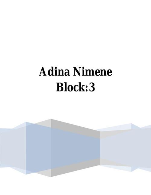 Adina Nimene