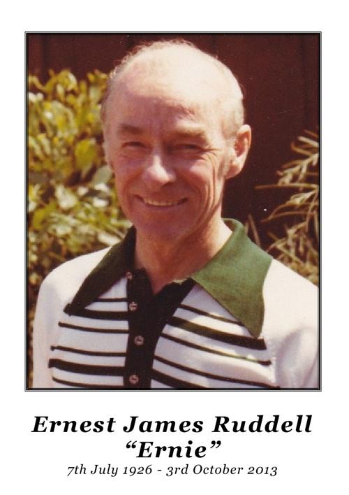 Ernest James Ruddell