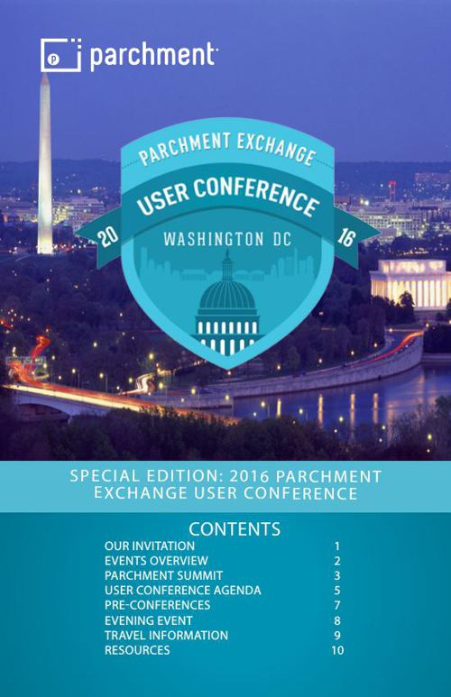 Special Edition: Parchment Exchange User Conference