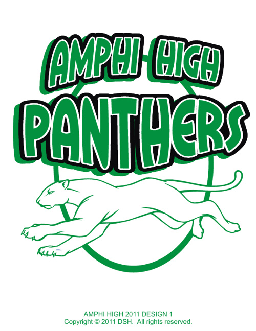 Amphi High School Baseball Fundraising Designs