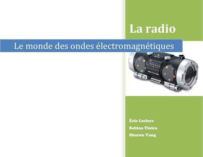 La radio flip-book Q F 2