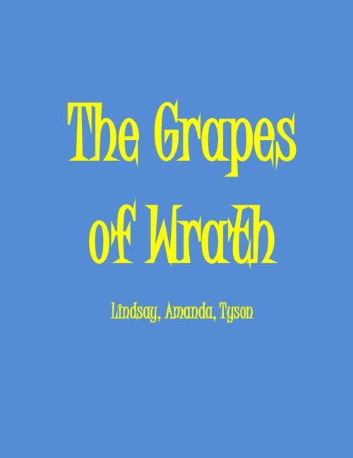 Grapes of Wrath Project