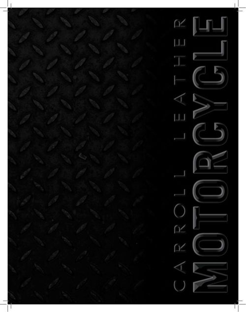 Carroll Biker Catalog