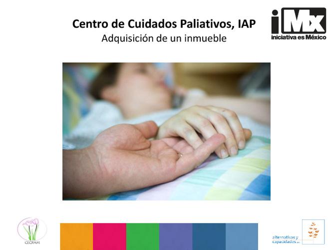 RF - Centro de Cuidados Paliativos - Adquisición de un inmueble