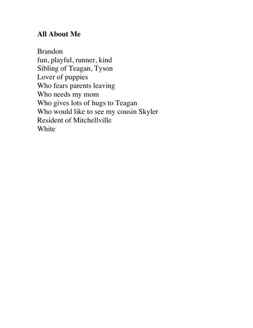 Brandon's Poetry