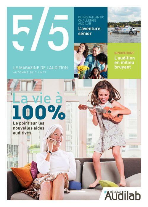 Audilab - Magazine 5-5 Rentrée 2017