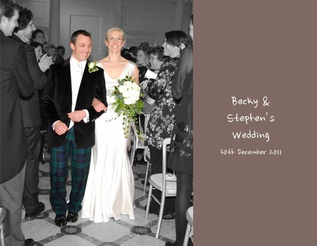 Becky & Stephens Wedding Photos