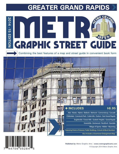 Sample Pages - GrandRapids 2014 Street Guide