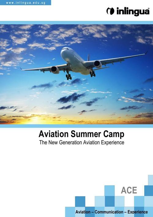 Aviation Camp Brochure
