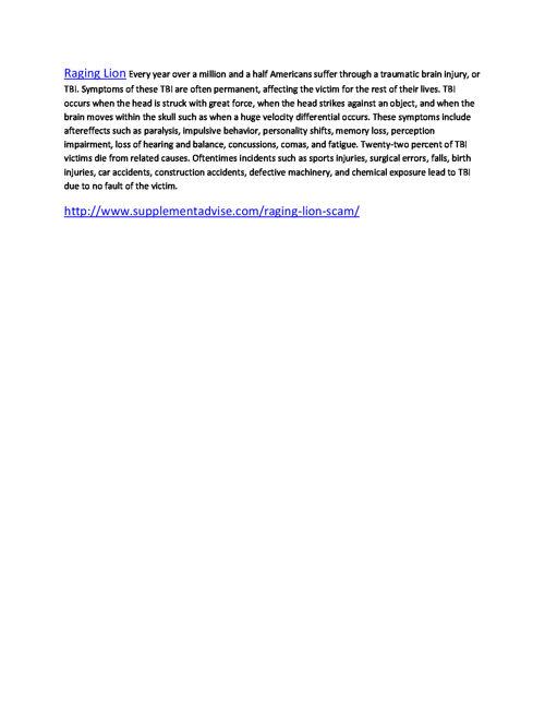 http://www.supplementadvise.com/raging-lion-scam/
