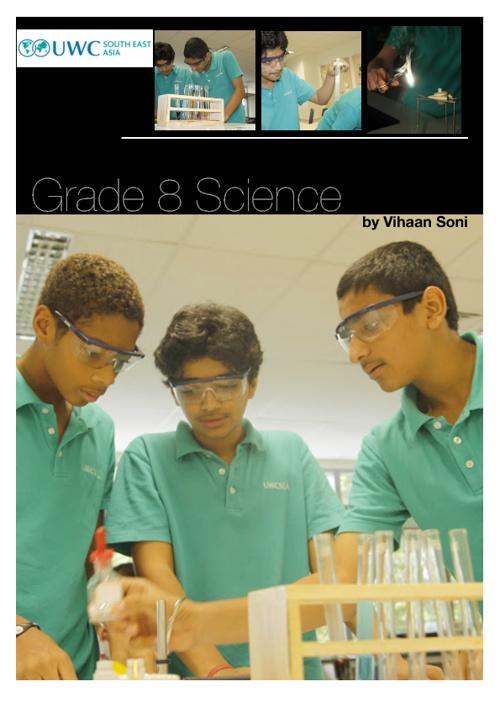 Science Notes Grade 8 Vihaan