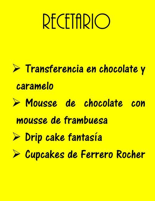 recetario 3