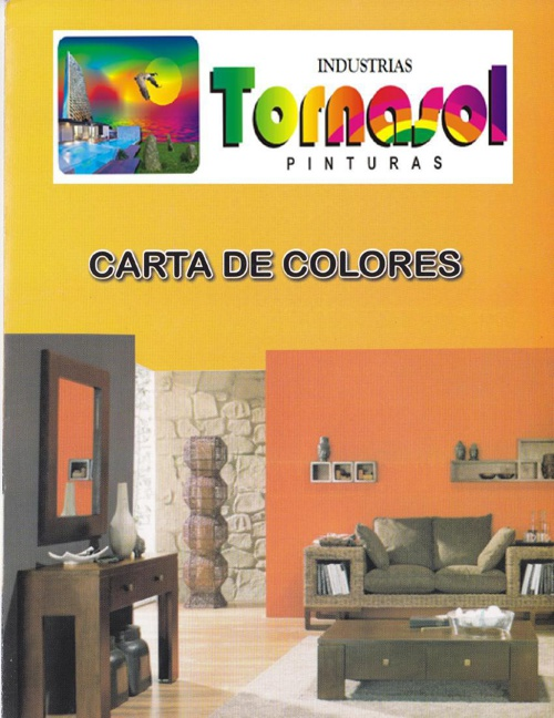 Carta de color industrias tornasol pinturas