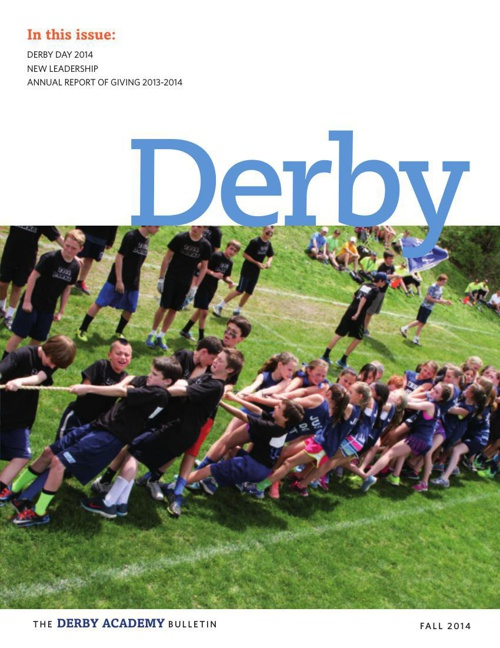 Fall 2014 Derby Bulletin