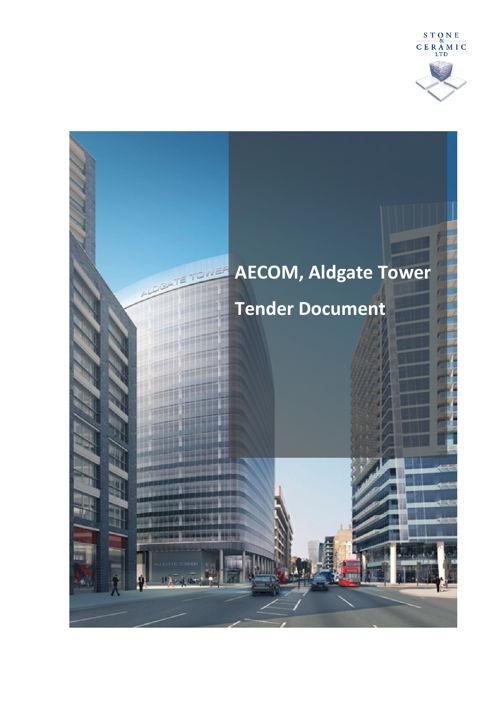 AECOM, Aldgate Tower Bid Document