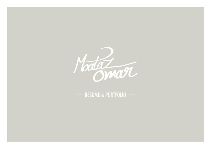 Moataz Omar - PORTFOLIO
