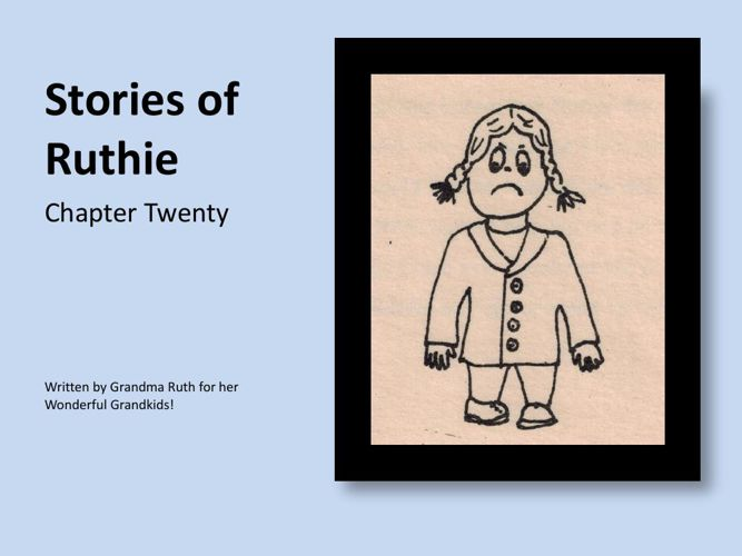 Stories of Ruthie - book 20