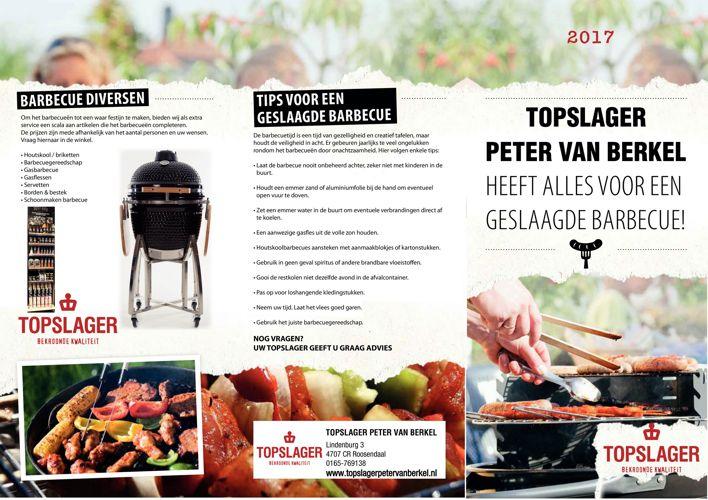 BBQ Folder 2017 - Topslager Peter van Berkel