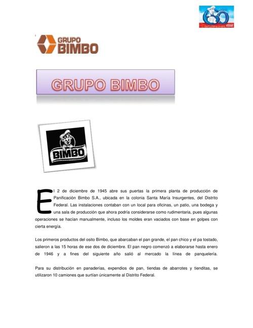 Grupo Bimbo LKSV