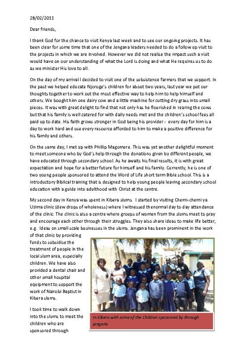 Copy of Jengana Newsletter - Feb 2011