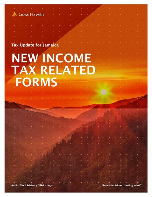 Jamaica Revised Income Tax Related Forms for 2017