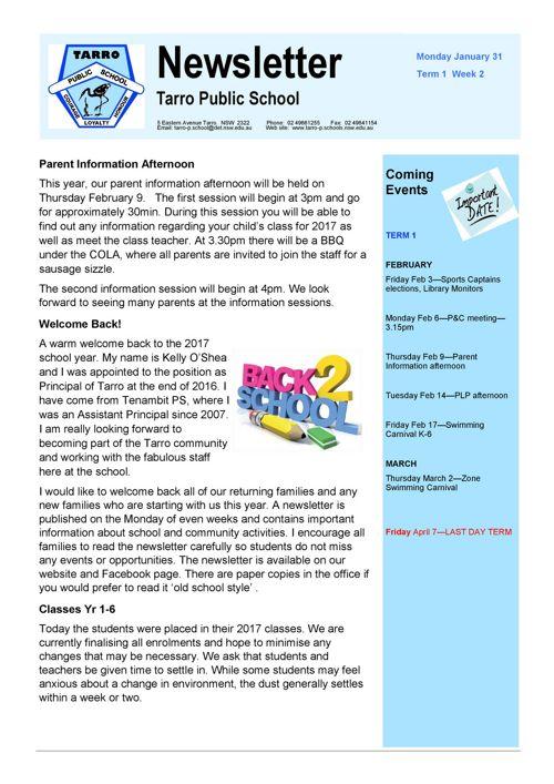Newsletter Jan 31 2017 PDF