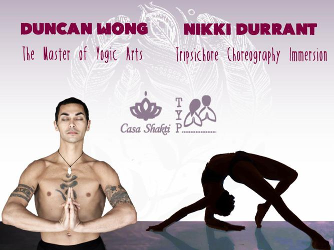 Duncan Wong & Nikki Durrant - Yoga Teacher Training Course