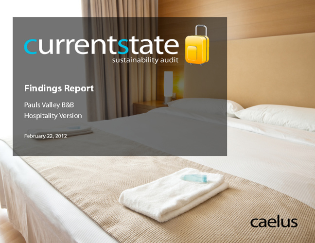 CurrentState Hospitality Sample Report