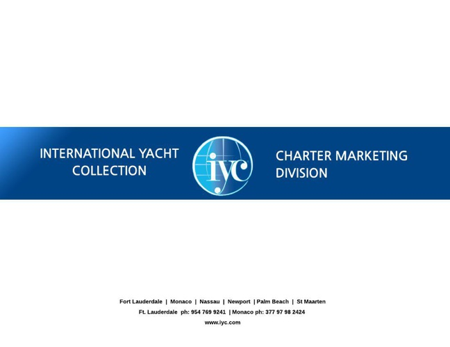 IYC Charter Marketing Presentation