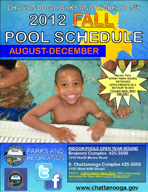 2012 Fall Pool Schedule!