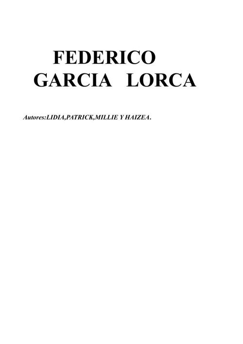 f.g.lorca