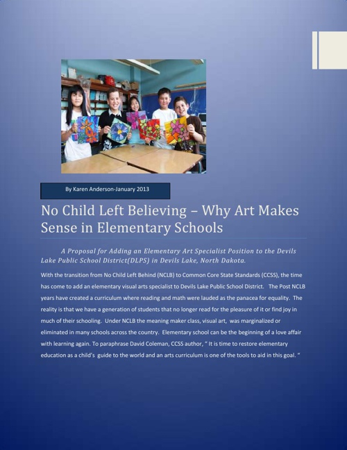 No Child Left Believing - The Antidote to No Child Left Behind