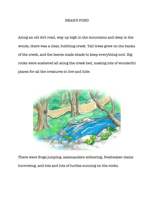 BEAR'S POND Book Two of the Barney Tales Collection