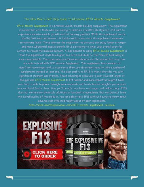 http://www.healthsupreviews.com/ef13-muscle-supplement-revie