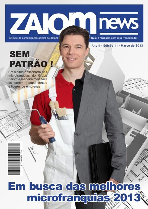 Zaiom News - Edição 01 - Ano 2013