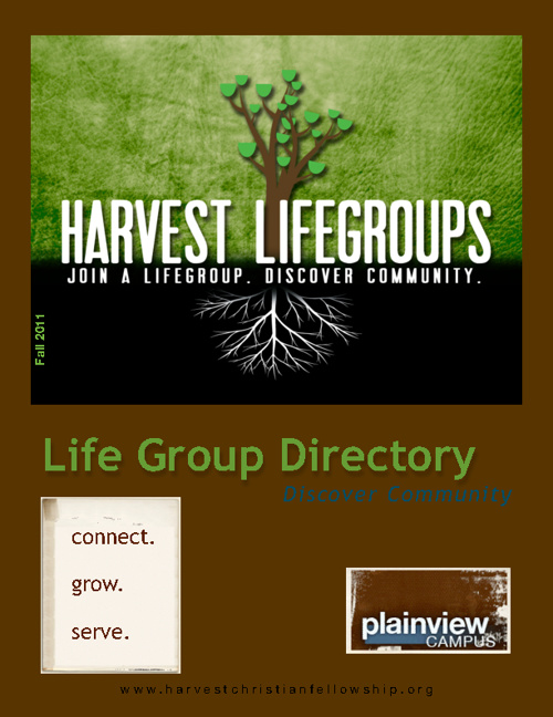 Life Group Directory