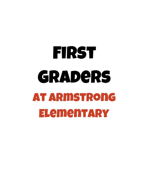 Armstrong First graders