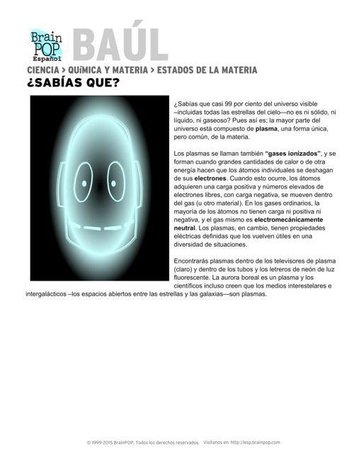 BrainPOP Español _ ESTADOS DE LA MATERIA
