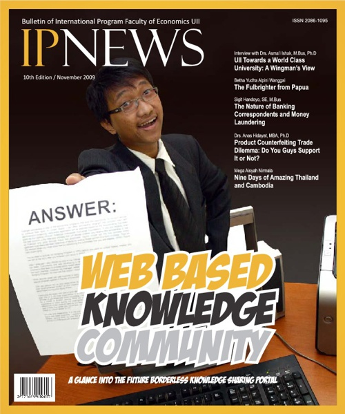 IPNEWS 10th Edition: Web Based Knowledge Community