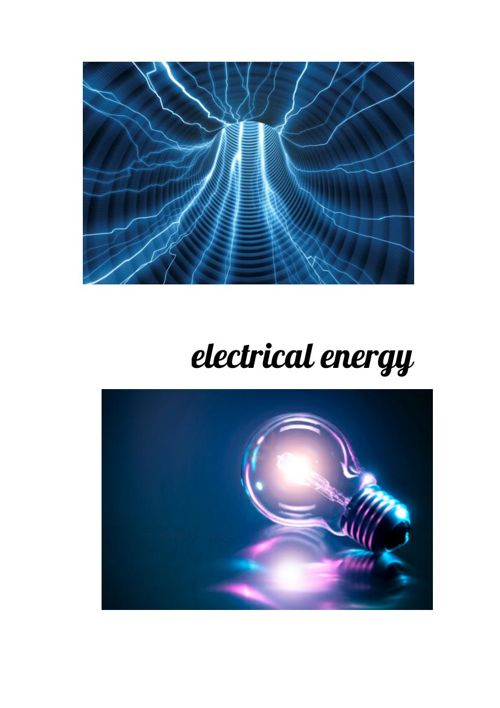 Copy of Electrical energy